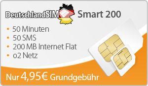 DeutschlandSIM Smart 200
