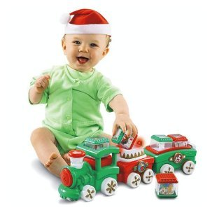 Fisher Price Peek A Blocks Press & Go Train