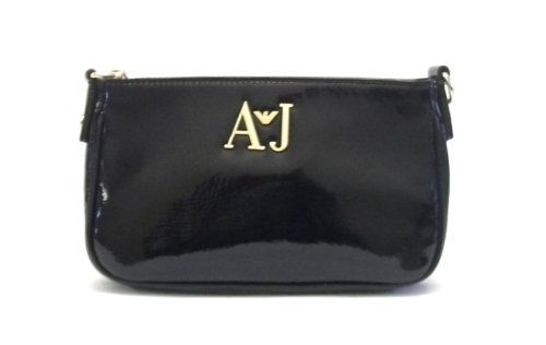 Armani Jeans Bags S5233 A5 Black Patent