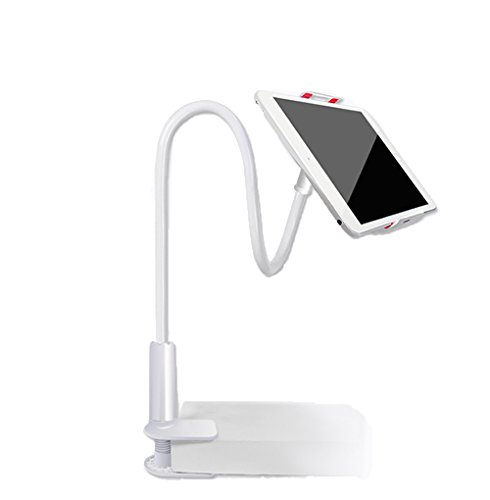 Tablet Stand, Flexible Arm & Clip 360 Degree Rotating Desktop Holder Mount for Apple iPhone 6s/Plus, iPad Air/mini/Pro 9.7