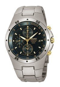 Seiko SND451P1 Men's Titanium Chronograph Watch