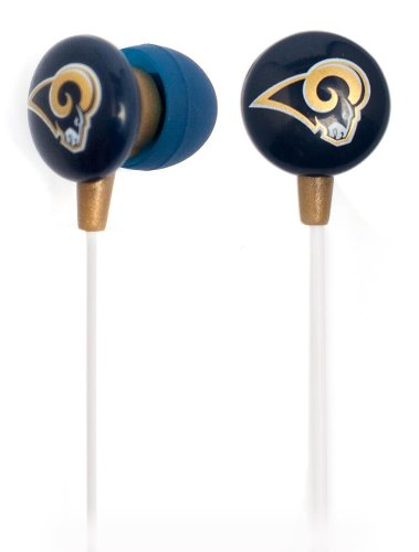 Ihip NFF10200STR ST. Louis Rams Earbuds Min NFL Team Logo at Amazon.com