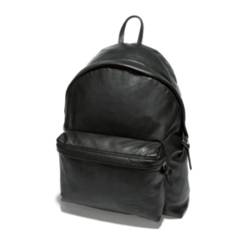 Eastpak Unisex Padded Pak'r Backpack Black Leather EK620762 Medium