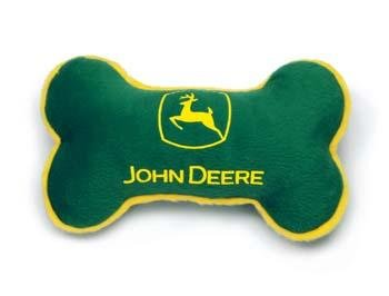 Coastal Pet John Deere Plush Dog Toy Bone