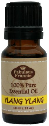 Ylang Ylang 100% Pure, Undiluted Essential Oil Therapeutic Grade - 10 ml. Great for Aromatherapy!