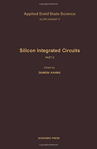 Applied Solid State Science: Silicon Integrated Circuits Suppt. 2, Pt. B: Advances in Materials and Device Research
