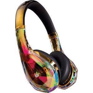 Monster Cable Diamond Tears Edge Headphones Gold