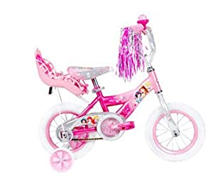 Buy 12 Huffy Disney Princess Girls' Bike with Doll Carrier by Huffy