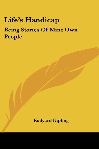 Life's Handicap: Being Stories Of Mine Own People PDF
