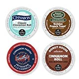 20 Count - Cinnamon Burst K Cup Variety Pack (4 Flavors, 5 K-cups Each)