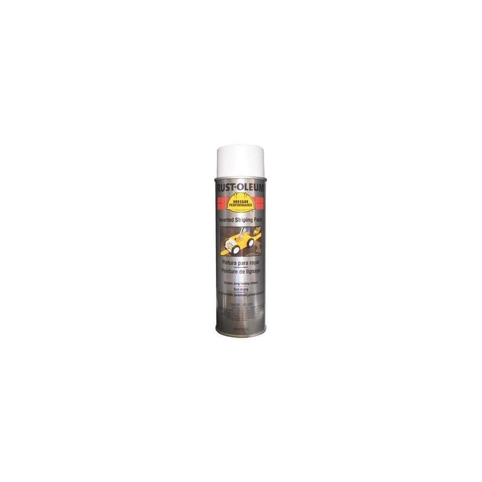 Rust Oleum   High Performance 2300 System Traffic Zone Striping Paints 838 18 Oz White Stripingpaint 647 2391838   838 18 oz white stripingpaint [Set of 6]