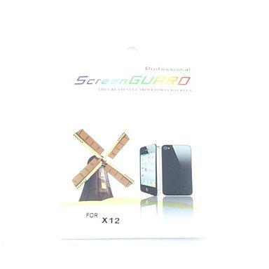 Crystal Clear Lcd Screen Protector With Cleaning Cloth For Sony Ericsson X12