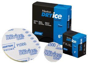 Dry Ice Q260 NorGrip Finishing Film Discs, P1500
