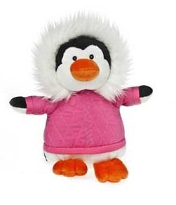 "7"" Blizzy Izzie Penguin Posse by Mary Meyer (Pink)"