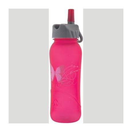 Nathan Hydration 2012 Tritan Flip Straw Water Bottle - 700ml