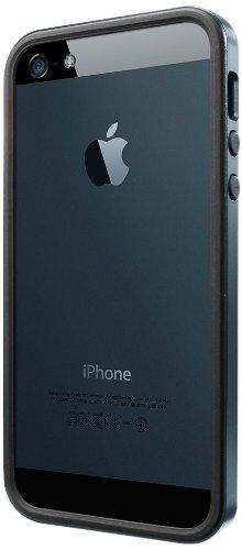 国内正規品SPIGEN SGP iPhone5/5S ケース ネオ・ハイブリッド EX スリム メタルシリーズ [メタル・スレート] SGP10037