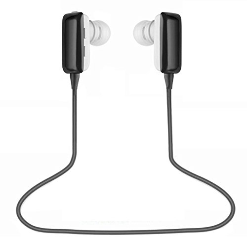 Best_Express Mini Lightweight Wireless Stereo Sports/Running & Gym/Exercise Bluetooth Earbuds Headphones Headsets W/Microphone For Iphone 5S 5C 4S 4, Ipad 2 3 4 New Ipad, Ipod, Android, Samsung Galaxy, Smart Phones Bluetooth Devices (Black)