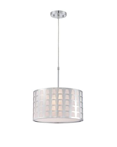 Lite Source Marciano Pendant, Chrome