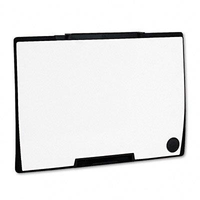 Quartet Motion Portable Dry Erase Board, 36 X 24, White, Black Frame, Ea - Qrtmmp75