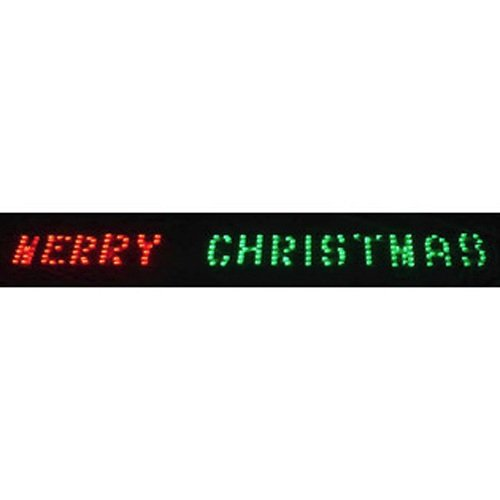 HUGE ANIMATED LIGHTED MERRY CHRISTMAS SIGN WINDOWS, PORCHES , OUTDOOR