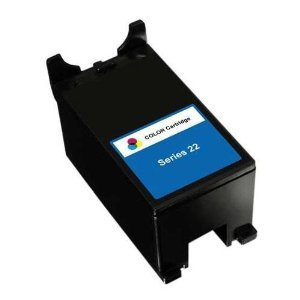 Vivamart: Dell Series 22 High Yield Color New Compatible Inkjet Cartridge for Dell T091N for the P513, V313 Printers
