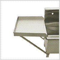 Griffin DR-44 Stainless Steel Drainboard, Stainless Steel
