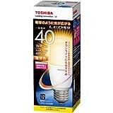 東芝ライテック LED電球 T形 40W相当 電球色