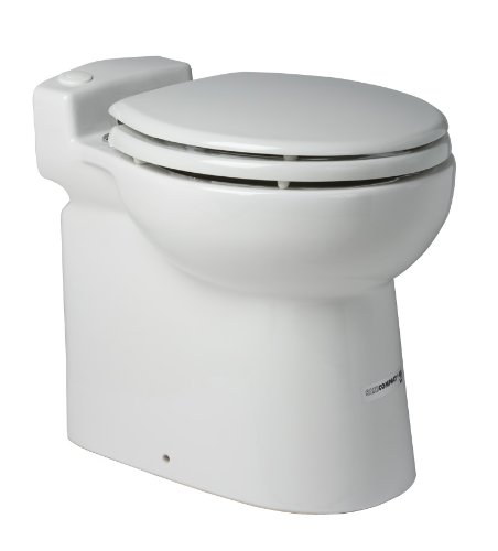 Images for Saniflo 023 SANICOMPACT 48 One piece Toilet with Macerator Built Into the Base, White