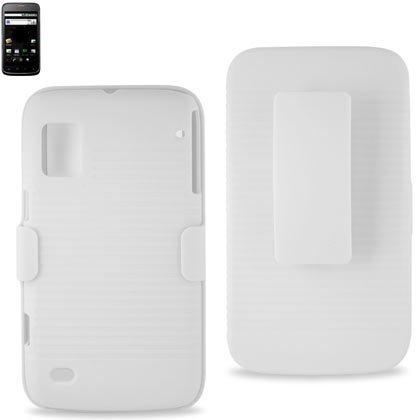Premium Durable Snap-on Holster Combos ZTE Warp (HC-ZTEWARPWH)