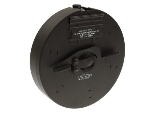Drum Magazine for Thompson Airsoft AEG series, 450rds - made of metal