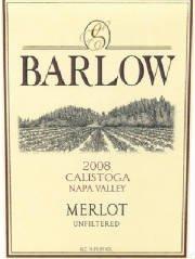 2008 Barlow Merlot 750 Ml