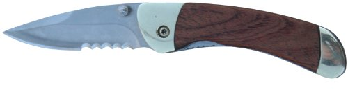 Parker River Classic Pocket Knife Personalized Engraved Gift Package (Rosewood Handle)