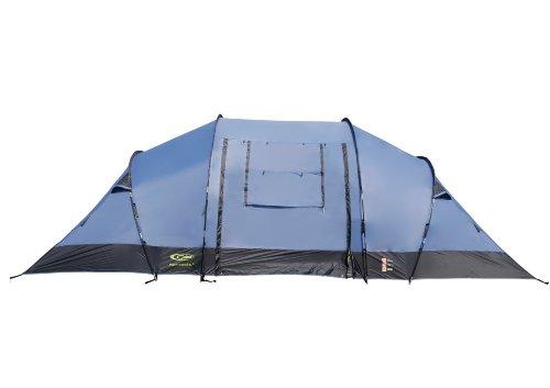Gelert Nemesis Eight Man Tent - Riviera/Charcoal