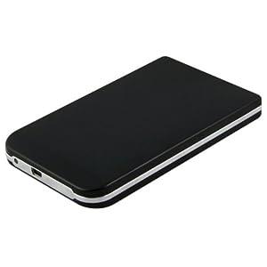 2.5^ USB 2.0 SATA Hard Drive HDD Case Enclosure - Black