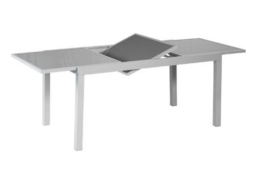 Merxx-Ausziehtisch-120-180-x-90-cm-graue-Glasplatte