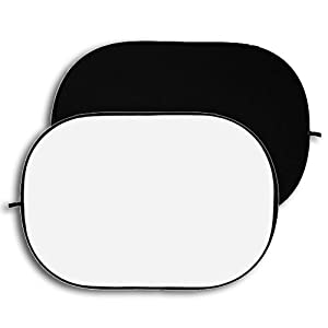 Fotodiox 5'x7' Collapsible 2-in-1 Background Panel (Black/White)