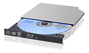 Sony Optiarc BC-5500S-01 2X Blu-Ray Slim Combo Drive - Bulk (Black)