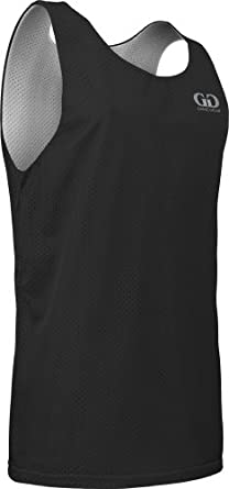 Buy AP993Y Youth Boys and Girls Tank Top Jersey-Uniform is Reversible to White by Game Gear