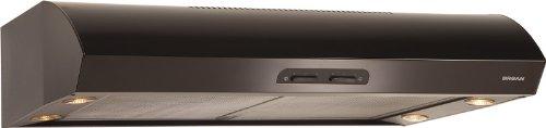 Broan QP142BL Under-Cabinet Range Hood, 42-Inch 300 CFM, Black-on-Black (Nutone Smoke Filter compare prices)