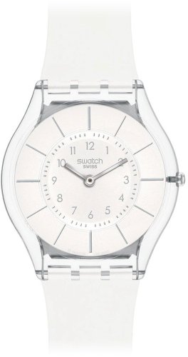 Swatch White Classiness SFK360 Ladies Watch