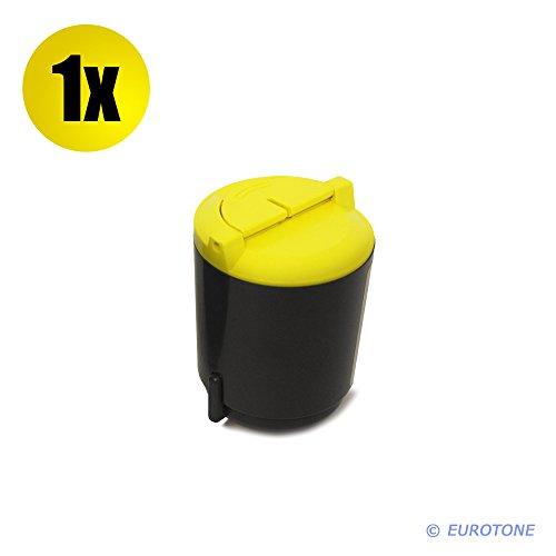 Eurotoner für CLP-300 CLX-2160 CLX-3160 FN N ersetzen Samsung gelbe CLP-Y300A Patronen Original EUROTONE ( ISO-Norm 19798 )