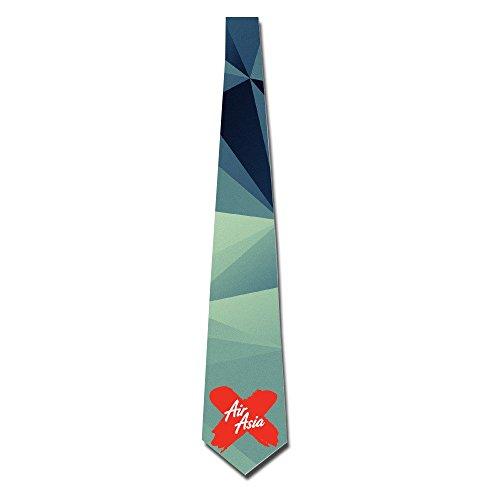 gigifashion-mens-airasia-x-logo-skinny-tie-white