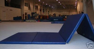 4'x8' Gymnastics Tumbling Martial Arts V4 Folding Mat
