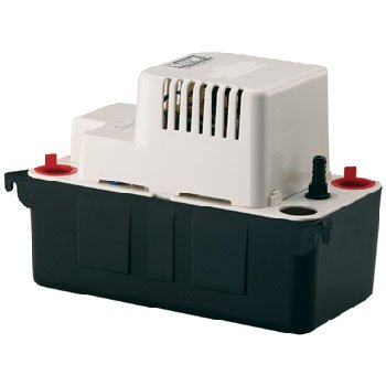 Little Giant VCMA-15ULS Condensate Removal 1/50 HP Pump with Safety Switch
