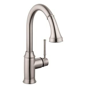 hansgrohe 04215800 talis c higharc kitchen faucet steel