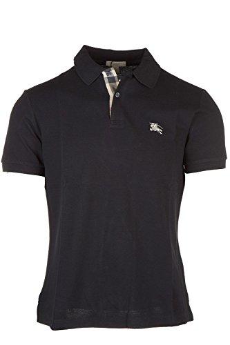 Burberry polo t-shirt maglia maniche corte uomo nero EU L (UK 40) 3459132 1