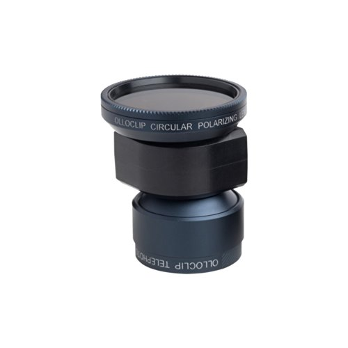 Telephoto Lens + Circular Polarizer For Iphone 5