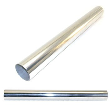 2' Straight Aluminum Pipe, 2.5 epman universal 3 aluminium air filter turbo intake intercooler piping cold pipe ep af1022 af
