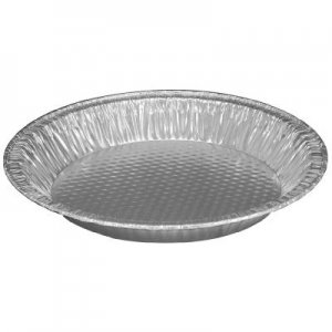 Aluminum Pie Pan, #10, 9 5 8 Dia X 1 7 32H by Handi-foil