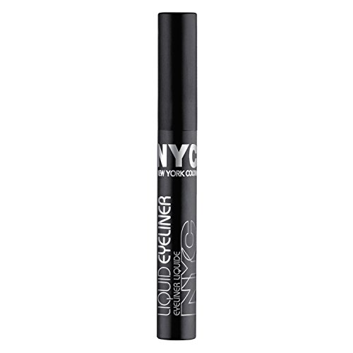 New York Color Liquid Eyeliner, Pearlized Black, 0.17 Fluid Ounce (Pack of 2) (New York Color Liquid Eyeliner compare prices)